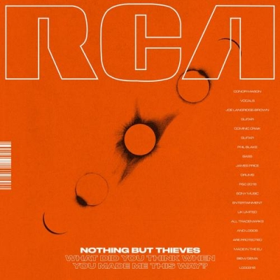 Nieuwe Single Nothing But Thieves : You Know Me Too Well !